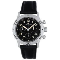 Breguet Platinum Type XX Aeronavale Chronograph Automatic Wristwatch Ref 3800