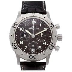 Breguet Transatlantique 3820TI Titanium Black Dial Automatic Watch