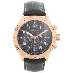 Breguet Transatlantique Type XXI Flyback Men's Rose Gold Chronograph Watch 3810