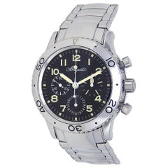 Breguet Type XX 3800ST/92/SW9, Black Dial, Certified and Warranty