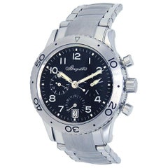 Breguet Type XX 3820ST/H2/SW9, Black Dial, Certified and Warranty