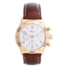 Breguet Type XX Transatlantique Chronograph Men's Rose Gold Watch Ref. 3820