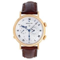 Breguet Yellow Gold Classique Réveil du Tsar Dual Time Wristwatch Ref 5707 BA
