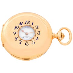 Breguet Yellow Gold Minute Repeater Pocket Watch