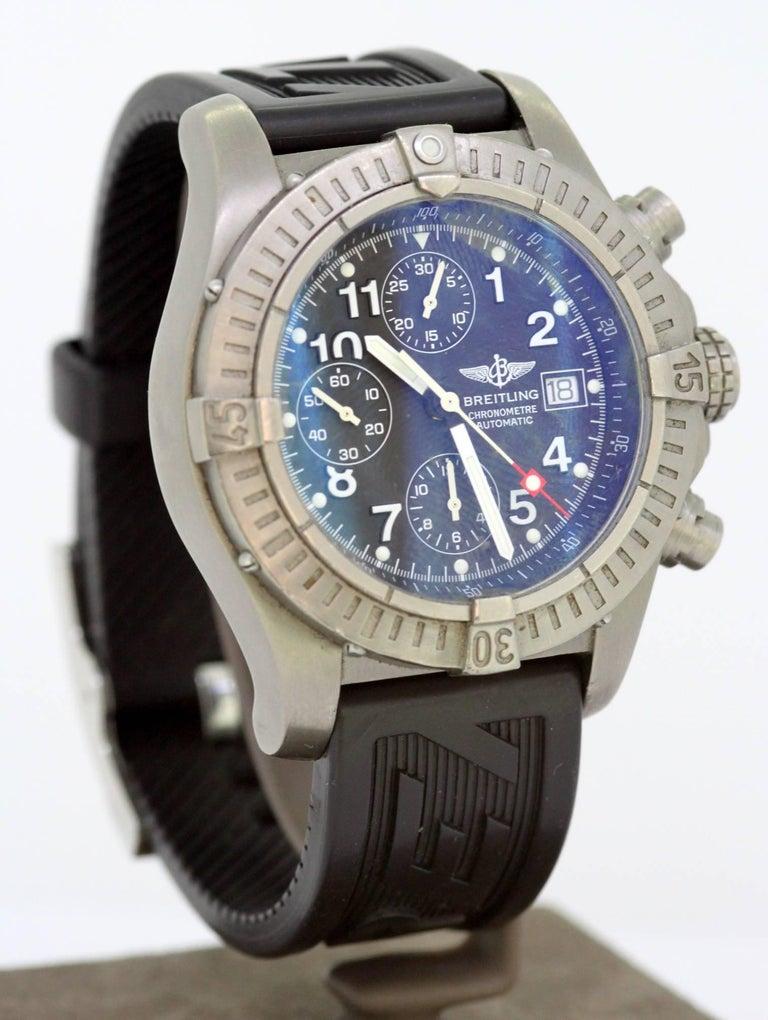 promo code 3e050 e9f2d Breitling Avenger, E13360, Men, 2000-2010