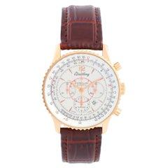 Breitling 18k Yellow Gold Navitimer Montbrillant Chronograph Men's Watch H 41330