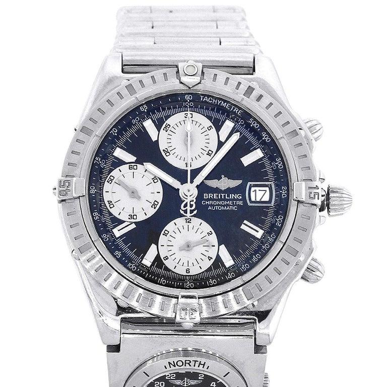 Breitling A13352 Windrider Chronomat UTC Watch For Sale