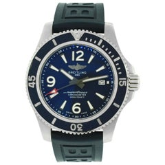 Breitling A17367 Superocean Blue Watch