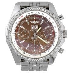 Breitling A44362 Bentley Chronograph Bronze Dial Men's Watch