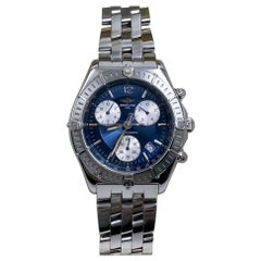 Breitling A53011 Sirius Stainless Steel Watch with Stainless Steel Box & Papers