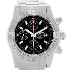 Breitling Aeromarine Avenger II Black Dial Men's Watch A13381