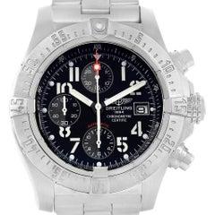Breitling Aeromarine Avenger Skyland Black Dial Men's Watch A13380