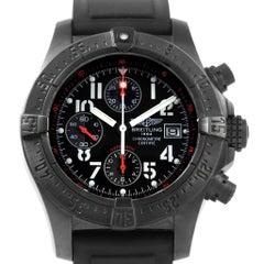 Breitling Aeromarine Avenger Skyland Blacksteel Limited Watch M13380