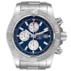 Breitling Aeromarine Super Avenger Steel Men's Watch A13371 Box Papers