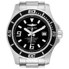 Breitling Aeromarine Superocean 44 Black Dial Steel Men's Watch A17391
