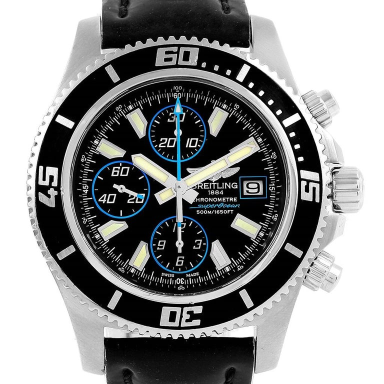 eb09290d401 Breitling Aeromarine SuperOcean Chronograph II Men s Watch A13341 ...