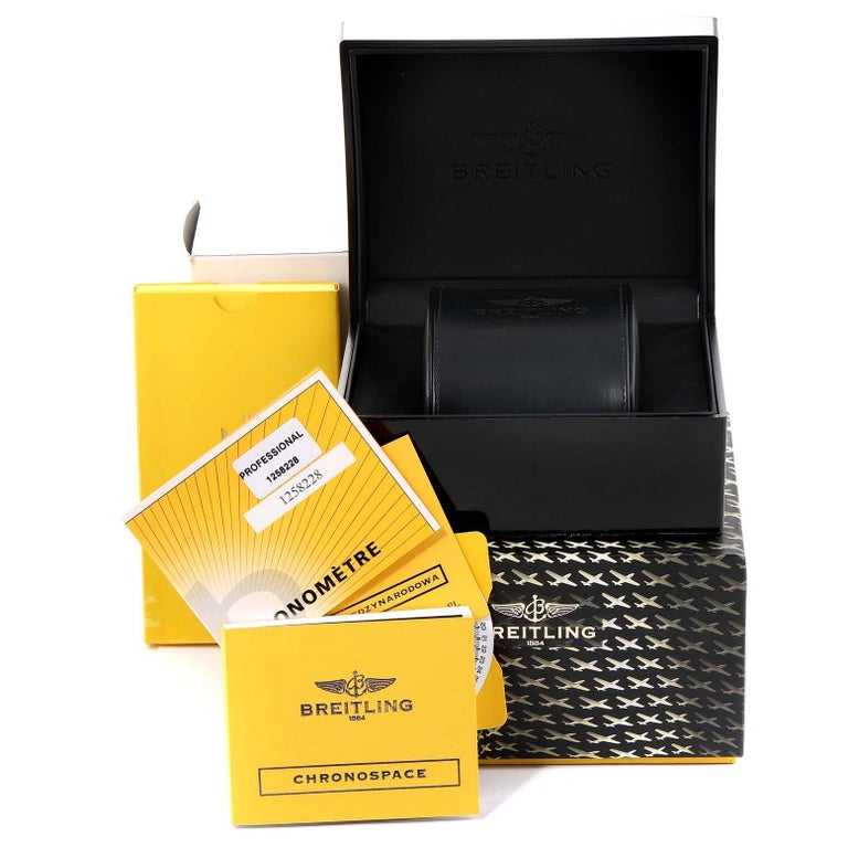 Breitling Aerospace Avantage Titanium Perpetual Alarm Watch E79362 Box Papers 7