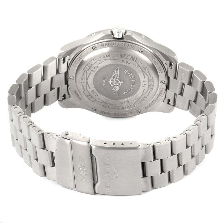 Breitling Aerospace Avantage Titanium Perpetual Alarm Watch E79362 Box Papers 4