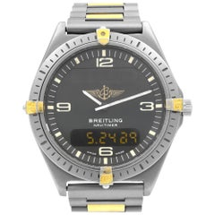 Breitling Aerospace Grey Dial Titanium Quartz Men's Watch F56059