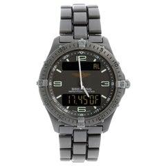 Breitling Aerospace Titanium Watch E65062