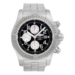 Breitling Avenger A13370, Black Dial, Certified and Warranty