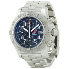 Breitling Avenger A13380, Gold Dial, Certified and Warranty