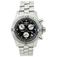 Breitling Avenger A73390, Silver Dial, Certified and Warranty