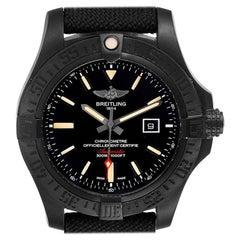Breitling Avenger Blackbird 48 Titanium Men's Watch V17310 Box Paper
