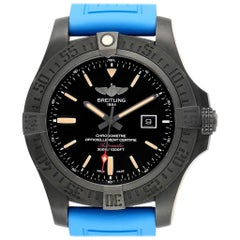 Breitling Avenger Blackbird 48 Titanium Rubber Strap Men's Watch V17310