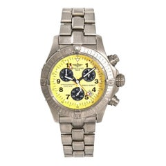 Breitling Avenger E73360, White Dial, Certified and Warranty