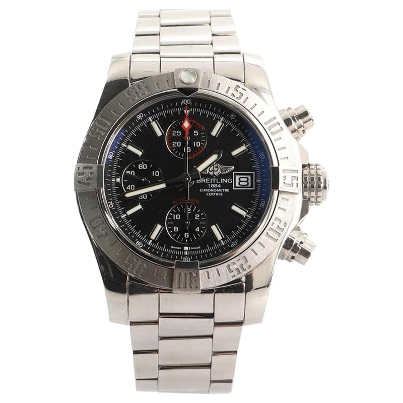 Breitling Avenger II Chronograph Automatic Watch Stainless Steel 43