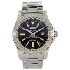 Breitling Avenger II GMT A32390 Men's Watch Box Papers