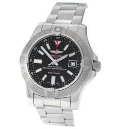 Breitling Avenger II GMT Chronometer Automatikuhr mit Datum, Edelstahl