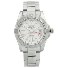 Breitling Avenger II GMT Steel White Dial Automatic Men Watch A3239011/G778-170A