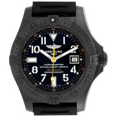 Breitling Avenger Seawolf Code Yellow Blacksteel LE Watch M17330 Box Papers