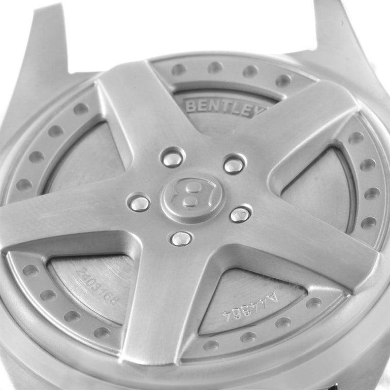 Breitling Bentley 6.75 Speed Chronograph Black Dial Mens