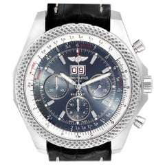 Breitling Bentley 6.75 Speed Chronograph Blue Dial Men's Watch A44364