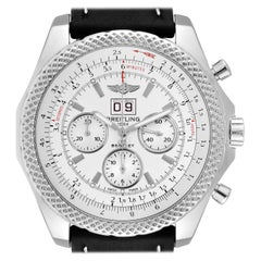 Breitling Bentley 6.75 Speed Chronograph Silver Dial Men's Watch A44364