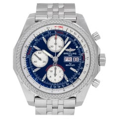 Breitling Bentley A13362, Blue Dial, Certified and Warranty