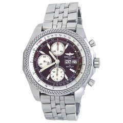Breitling Bentley A13362, Red Dial, Certified and Warranty