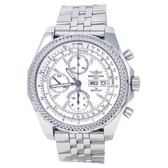 Breitling Bentley A13362, White Dial, Certified and Warranty