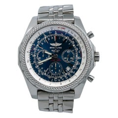 Breitling Bentley A25362, Black Dial, Certified and Warranty