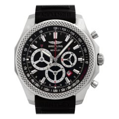 Breitling Bentley A25366, Black Dial, Certified and Warranty