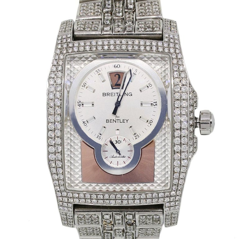 Breitling Bentley A28362 Flying B Aftermarket Diamond