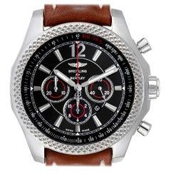 Breitling Bentley Barnato 42 Chronograph Black Dial Men's Watch A41390