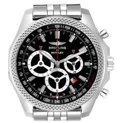 Breitling Bentley Barnato Racing Black Dial Men's Watch A25366