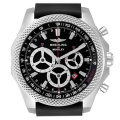 Breitling Bentley Barnato Racing Black Dial Men's Watch A25366