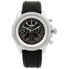 Breitling Bentley Black Dial Steel Automatic Men's Watch AB061221/BD93-480X