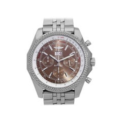 Breitling Bentley Chronograph 6.75 Speed Watch A44362