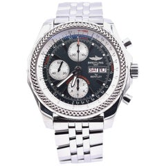 Breitling Bentley GT Watch with Stainless Steel Bracelet Ref# A13362